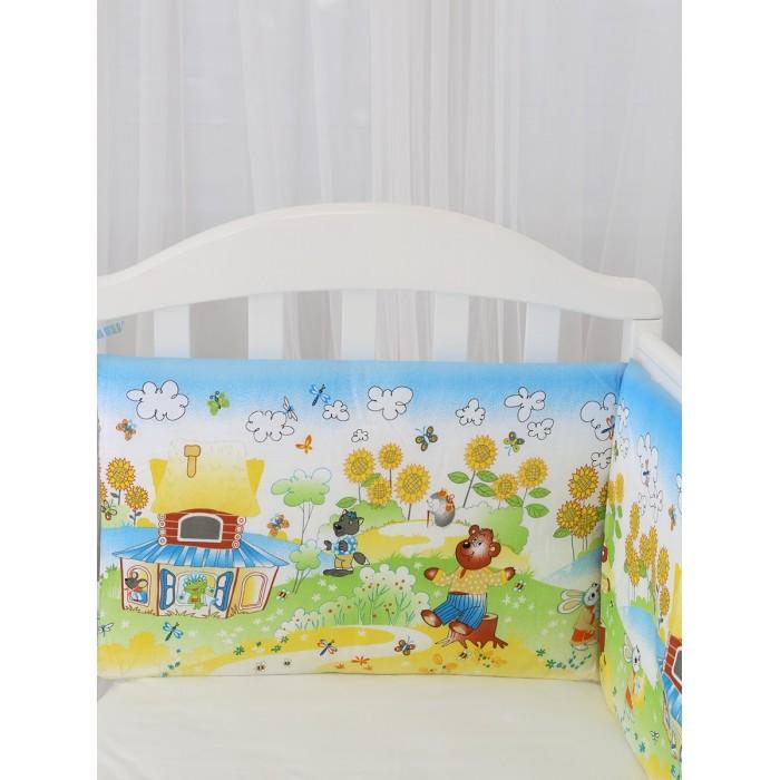 Купить Бортик в кроватку Baby Nice (ОТК) Споки ноки Теремок в интернет магазине. Цены, фото, описания, характеристики, отзывы, обзоры