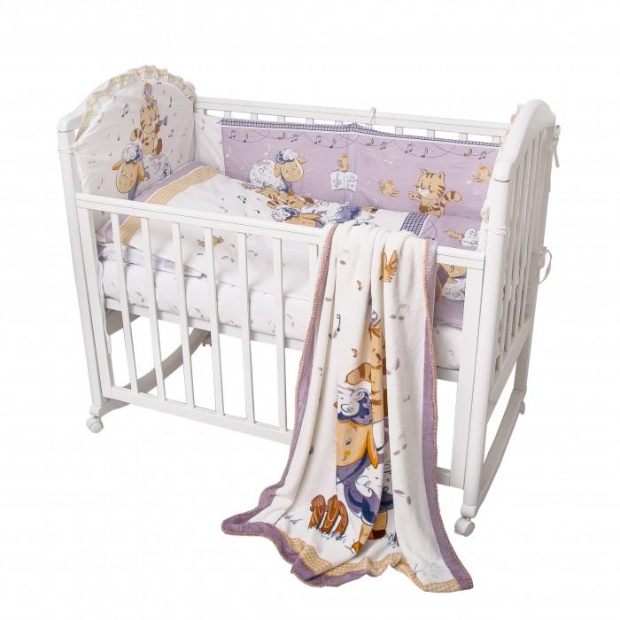 Постельное белье Baby Nice (ОТК) Овечка (4 предмета) H18/5 фоторамка crystocraft овечка цвет серебристый 4 5 х 5 5 см