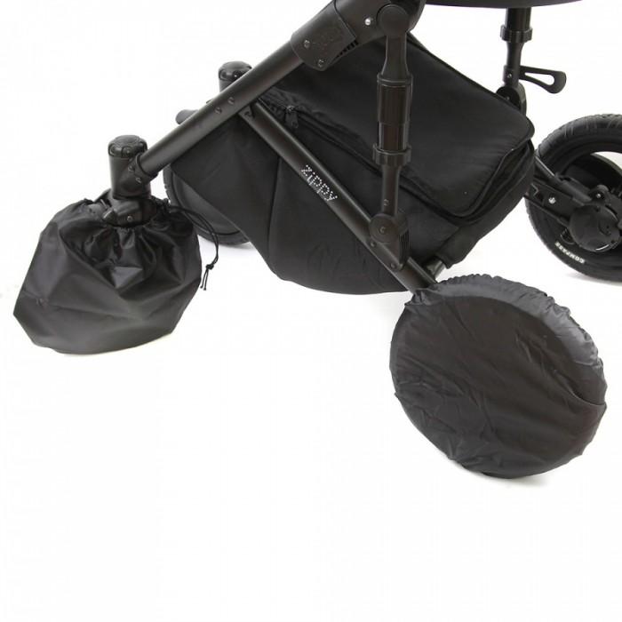 Аксессуары для колясок BamBola Чехлы на колёса для коляски с поворотными колесами москитные сетки bambola универсальная на весь купол коляски