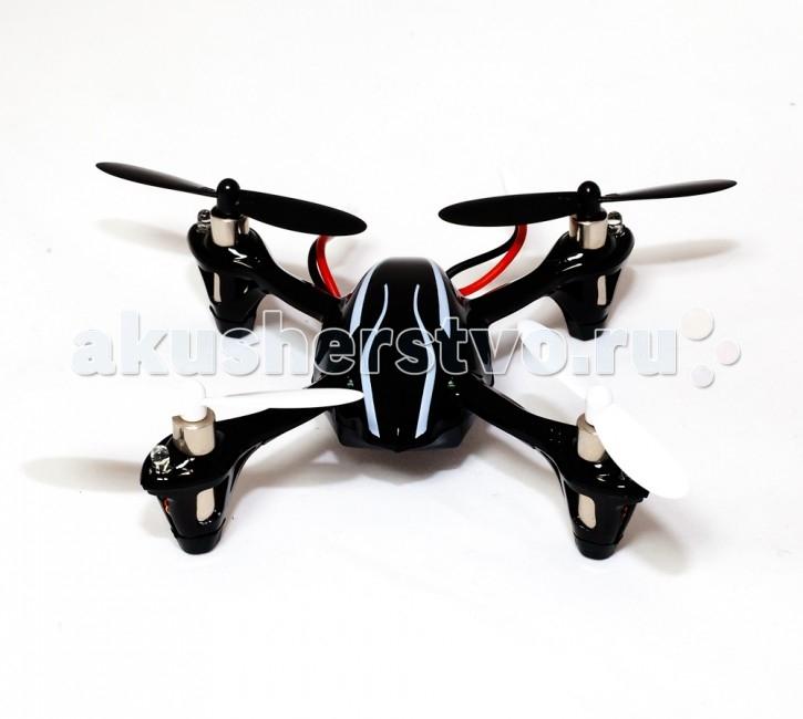 Hubsan Квадрокоптер X 4 Mini Quadcopter LED Ver. H107+Квадрокоптер X 4 Mini Quadcopter LED Ver. H107+Hubsan Квадрокоптер X 4 Mini Quadcopter LED Ver. H107+, который способен летать как в помещении, так и на улице. Современная аппаратура на 2.4ГГц обеспечивает надежную защиту от помех.  Модель оснащена прочным футуристическим кузовом и светодиодами для ночных полетов. Благодаря настраиваемой чувствительности управления модель подходит и для новичков и для профессионалов. В модели применен гироскоп, который придает модели устойчивость при полете.  Особенности: Тип управления:Радио 2,4 ГГц Датчик стабилизации полета 6 осевой гироскоп Тип двигателей: х4 - 0720RN57A-9M-130NL52 Зарядное устройство: USB кабель Время зарядки: 40 минут Время полета: 10 минут Дальность связи: до 100 метров Пульт ДУ: радио, 2.4 ГГц, 4-х канальный с ЖК дисплеем Дополнительно: 4 резиновые ножки; 4-е светодиодных фонарика (2 синих,2 белых) Источник питания: Аккумулятор 3.7V 100 mAh Li-Po  Размеры: 65х65 мм<br>