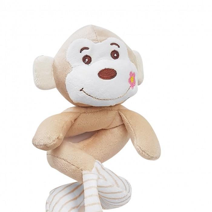Купить Мягкие игрушки, Мягкая игрушка Uviton спиралька Обезьянка 24 см