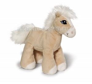 Мягкая игрушка Nici Лошадка Даймонд бежевая стоячая 15 см
