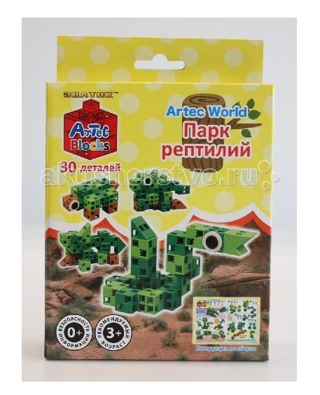 Конструкторы Знаток ArTec World Парк рептилий 30 деталей
