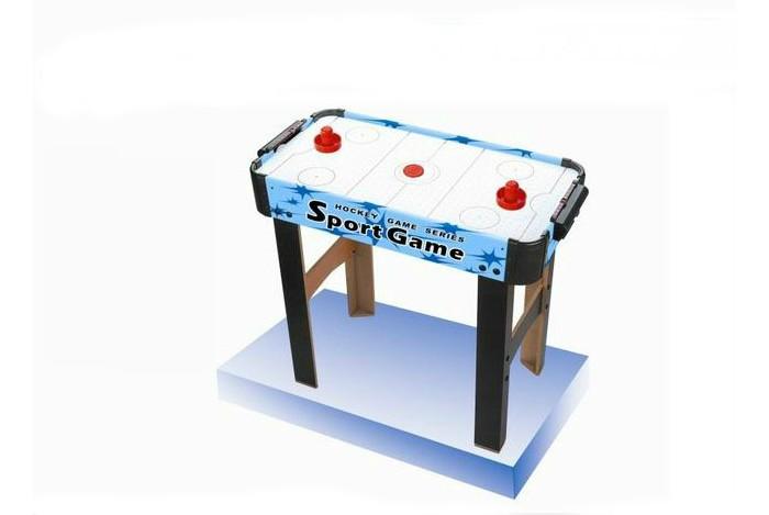 Veld CO Игра настольная Аэрохоккей 79415Настольные игры<br>Veld-Co Игра настольная Аэрохоккей  одна из наиболее популярных игр для активных детей и взрослых, которая поможет не только создать хорошее настроение, но и развить отличную реакцию, а также поддержать хорошую физическую форму. Во время игры развивается внимательность, реакция и координация движения.