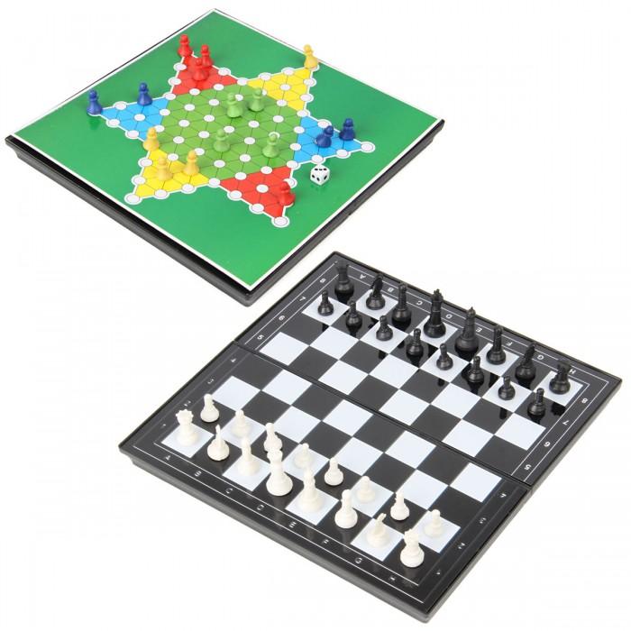 Настольные игры Veld CO Настольные игры 2 в 1 шахматы и китайские шашки
