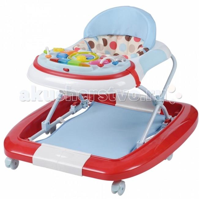 Детская мебель , Ходунки Pituso Мой веселый друг 6 колес арт: 68945 -  Ходунки