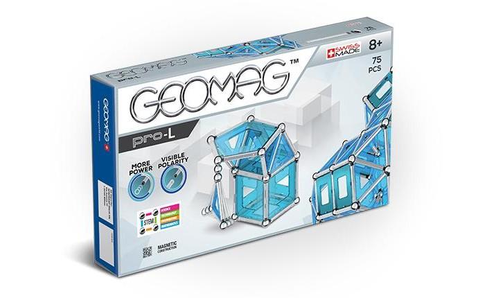 Купить Конструкторы, Конструктор Geomag магнитный Pro-L (75 деталей)
