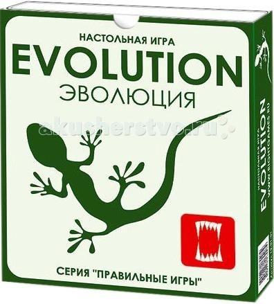 Правильные игры Настольная игра Эволюция от Правильные игры