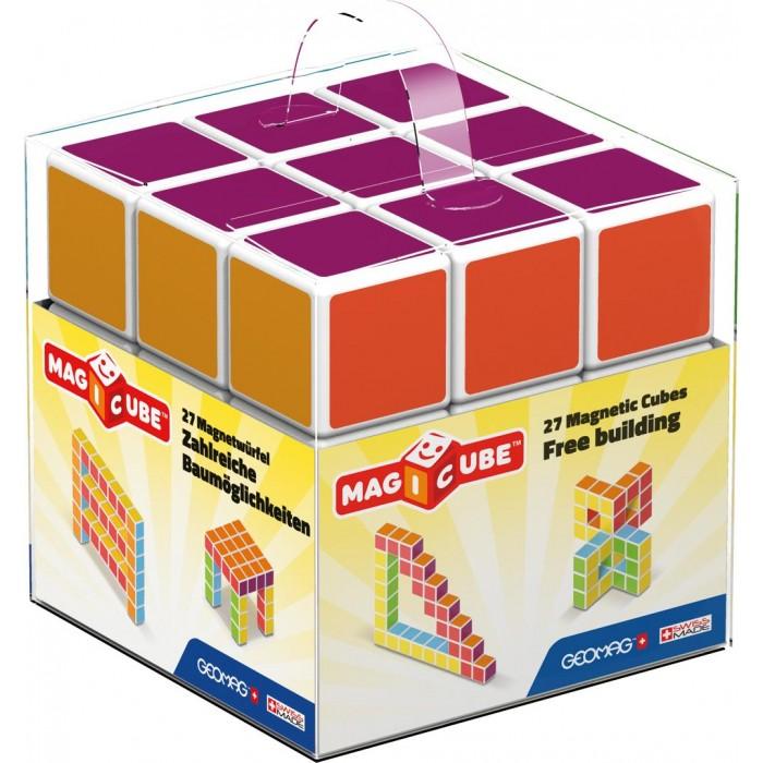 Купить Конструкторы, Конструктор Geomag магнитный MagiCube (27 деталей)