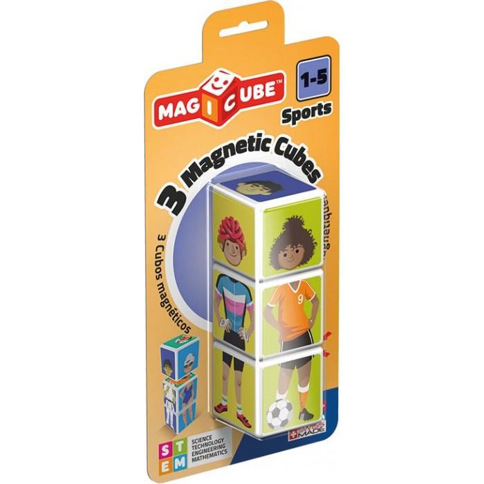 Конструкторы Geomag магнитный MagiCube Спорт (3 детали)