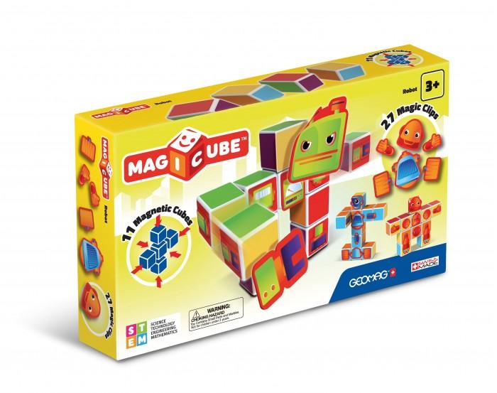 Купить Конструкторы, Конструктор Geomag магнитный MagiCube Роботы (38 деталей)