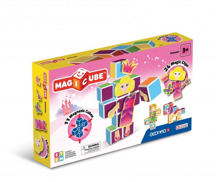Купить Конструкторы, Конструктор Geomag магнитный MagiCube Принцессы (35 деталей)