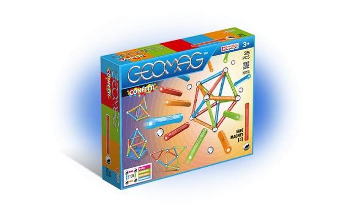 Купить Конструкторы, Конструктор Geomag магнитный Confetti (35 деталей)