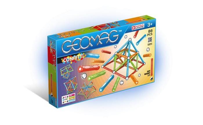 Конструктор Geomag магнитный Confetti (88 деталей)