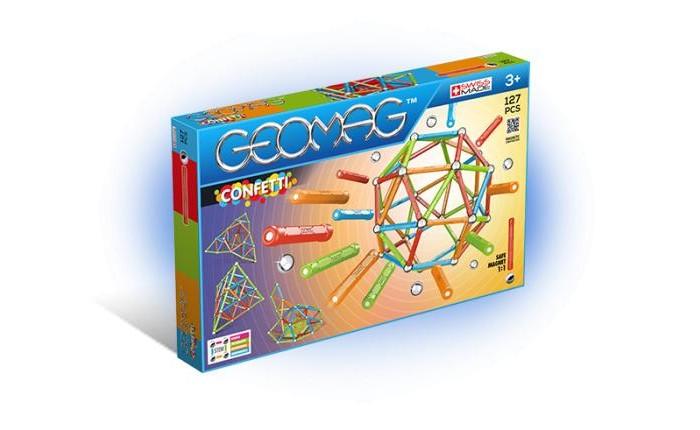 Купить Конструкторы, Конструктор Geomag магнитный Confetti (127 деталей)