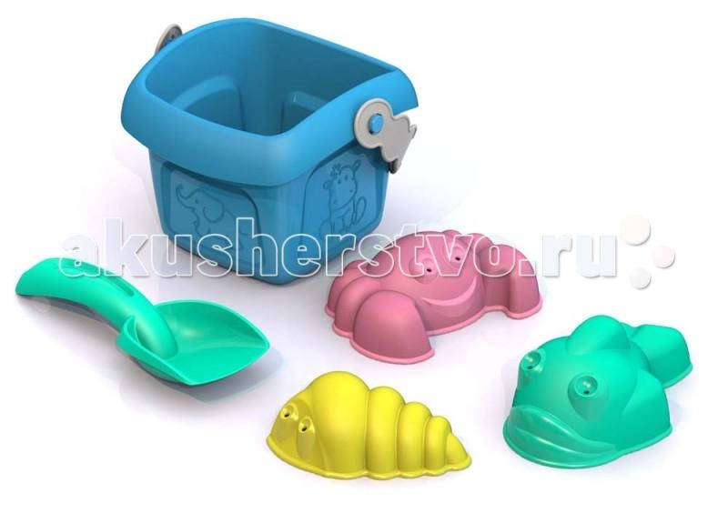 Игрушки для зимы Шкода Набор игрушек в песочницу Лето №2 hasbro play doh игровой набор из 3 цветов цвета в ассортименте с 2 лет
