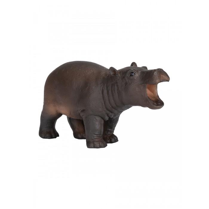 Игровые фигурки Mojo Фигурка Animal Planet Гиппопотам детеныш S mojo фигурка гиппопотам детеныш