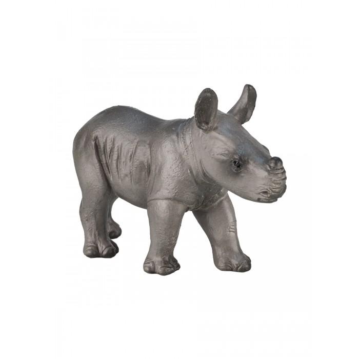 Игровые фигурки Mojo Фигурка Animal Planet Носорог детеныш S mojo фигурка гиппопотам детеныш