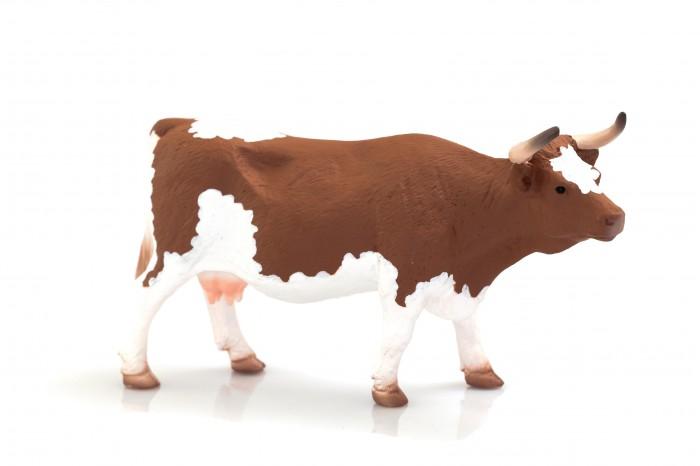 Mojo Фигурка Animal Planet Корова симментальской породы XL 387220