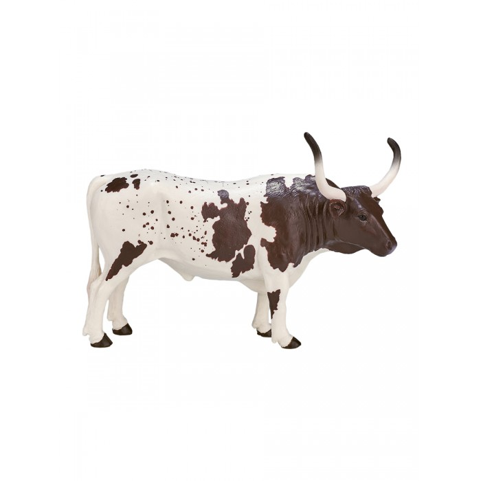 Mojo Фигурка Animal Planet Техасский бык породы лонгхорн XL 387222