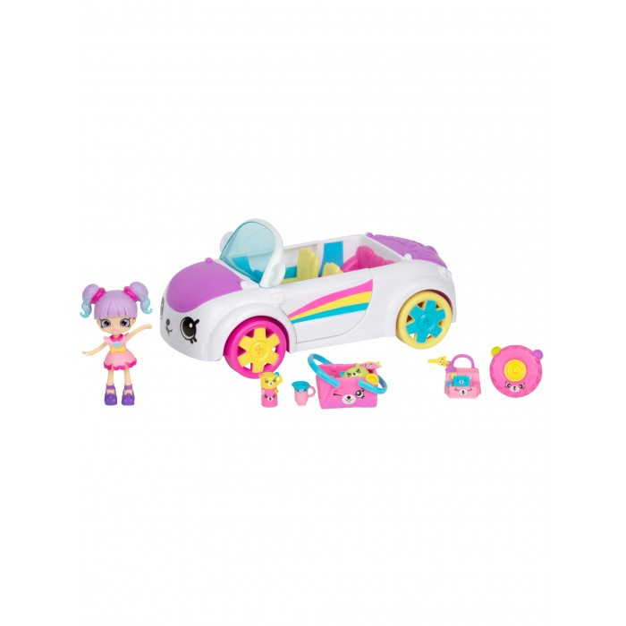 Happy Places Набор Shopkins Кабриолет Радужный пляж