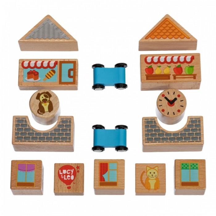 Картинка для Развивающая игрушка Lucy & Leo Кубики малый набор