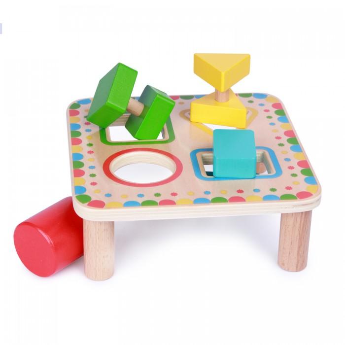 Картинка для Развивающая игрушка Lucy & Leo Сортер квадрат