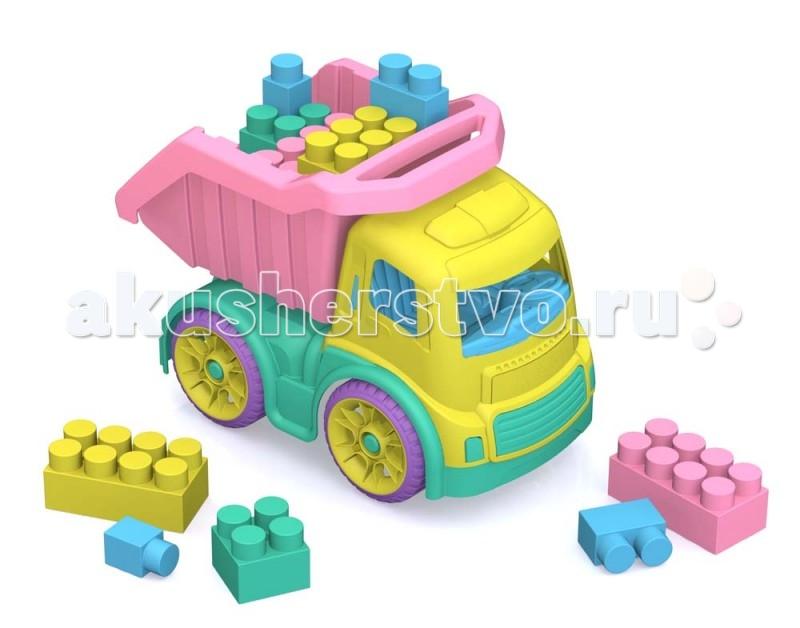 Шкода Машинка с конструктором МегаМашинка с конструктором МегаШкода Машинка с конструктором Мега для самых маленьких.   Особенности: Изготовлен из пластмассы нового поколения, в производстве использованы очень яркие цвета и новые дизайнерские решения. В комплект с грузовиком входит конструктор МЕГА, совместимый со всеми сериями конструкторов Шкода.  В комплекте: размеры грузовика: 40,5х23х28,5 см., кузов регулируется в двух положениях. конструктор: 28 элементов. высота кубика 5,5 см.<br>