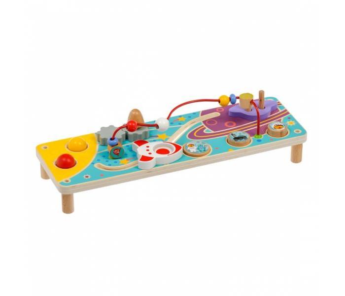 Деревянная игрушка Lucy & Leo Бизиборд Космос