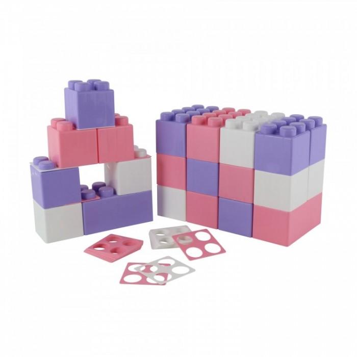 Конструктор Wader строительный XXL v2 (24 элемента)Конструкторы<br>Wader Конструктор строительный XXL v2 (24 элемента)  В данный игровой набор входит двадцать четыре элемента для сборки различных игровых построек, а также двадцать четыре элемента для соединения деталей в большем количестве вариаций. Элементы комплекта выполнены изготовлены из прочного пластика в пастельных оттенках  Элементы игрушки выполнены в большом размере для удобства игр детей любого возраста, в набор входят одинарные (четыре скрепляющих элемента) и двойные (восемь скрепляющих элементов) детали  Набор подходит для использования дома, а также для обучающих занятий в детских садах и образовательных секциях. Набор можно использовать как самостоятельно, так и в дополнение к другим комплектам данной серии  В процессе игры в конструктор малыш будет учиться анализировать форму, цвет и размеры предметов, составлять из них различные комбинации, создавая новые объекты и постройки, развивать фантазию и двигательные навыки  Набор подходит для занятий с детьми от 0+.