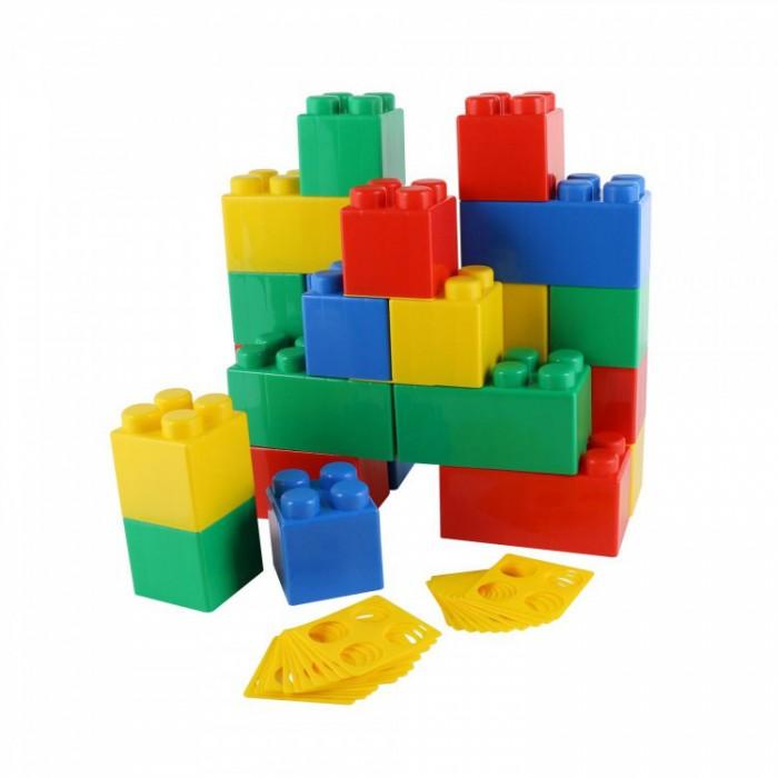 Конструктор Wader строительный XXL (24 элемента)