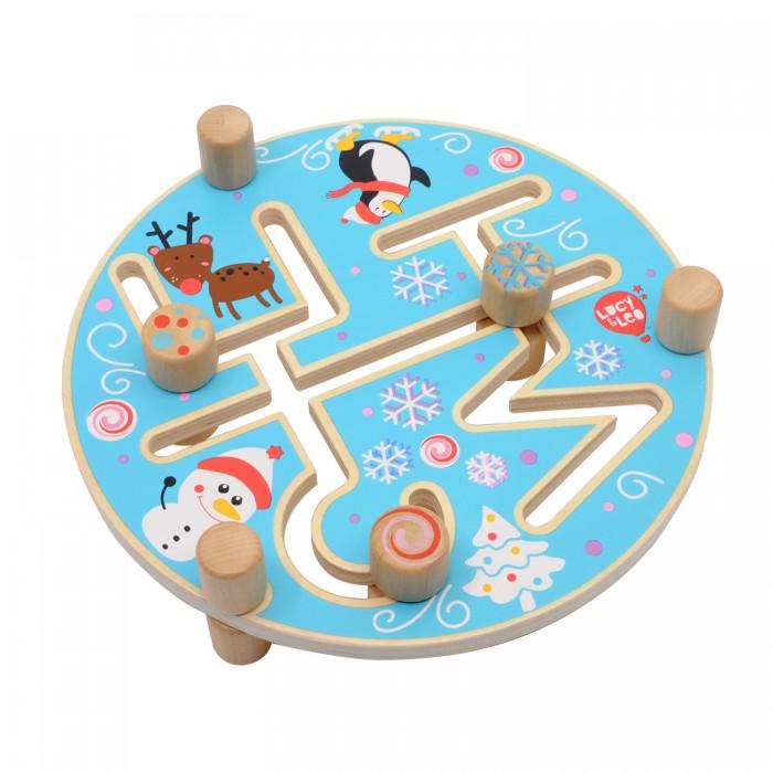 Купить Деревянные игрушки, Деревянная игрушка Lucy & Leo Веселые каникулы