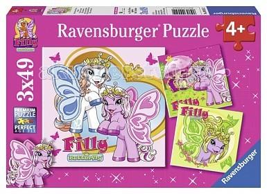Пазлы Ravensburger Пазл 3 в 1 Филли 3x49 элементов ravensburger 3 1