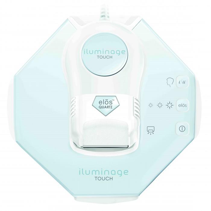 Iluminage Фотоэпилятор Touch 200К/300KКрасота и уход<br>Iluminage Фотоэпилятор Touch 200К/300K Первый элос эпилятор для домашнего применения, который позволяет избавиться от волос любого оттенка на коже любого типа быстро, безболезненно и всего за 6 недель.  Компания Syneron, производитель эпилятора Iluminage, является изобретателем IPL технологии, применяемой в обычных фотоэпиляторах. Всего за несколько лет технология стала доминирующей в индустрии удаления волос. Однако IPL технология имеет ряд существенных недостатков: фотоэпиляция противопоказана смуглым людям и низко эффективна для удаления светлых волос.   Результатом многолетних исследования по усовершенствованию IPL явилась технология ЭЛОС - электро-оптическая синергия: революционная технология, сочетающая IPL и лазер с биполярными радиочастотами для беспрецедентной эффективности и безопасности процедур. Только в эпиляторах Iluminage применяется запатентованная компанией-производителем технология ELOS, сочетающая в себе энергию RF воздействия и энергию светового излучения IPL.  Энергия IPL (Intense Pulsed Lig ht). При этом воздействии на кожу подается вспышка светового излучения, энергия которой накапливается в луковице, прекращая ее активность по производству волос. Энергия RF (Radio Frequency). Это диапазон электромагнитного радиочастотного излучения, который воздействует на фолликул тепловой энергией, что приводит к остановке роста волос.  10 причин приобрести Элос-эпилятор премиум класса Iluminage Touch: 1. Изготовлен c применением революционной запатентованной технологии Элос – IPL+RF. 2. Подходит для обработки волос любого цвета, тона кожи, любых участков тела. 3. В комплект входит специальный адаптер для эпиляции на лице. 4. Сенсорное управление, усовершенствованный пользовательский интерфейс. 5. Безопасность и простота применения. 6. Идеален для домашнего использования. 7. Подходит для мужчин и женщин. 8. Охлаждающий встроенный фен. 9. Ультрасовременный, эргономичный дизайн. 10. Кварцевый картридж на