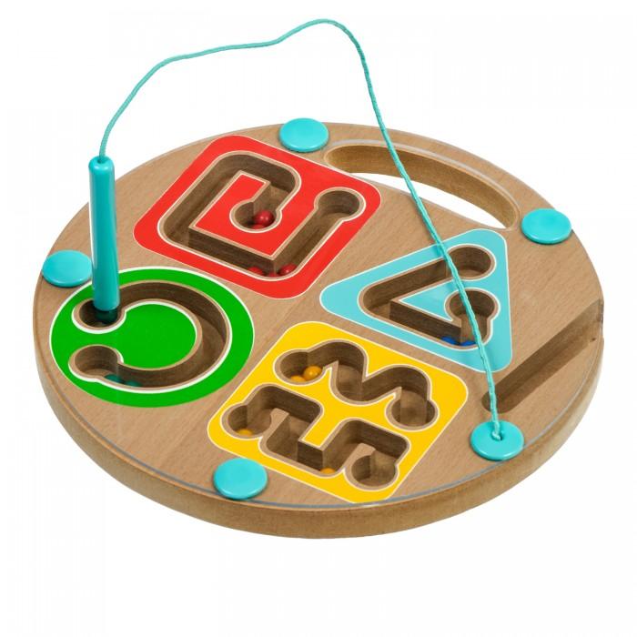 Купить Деревянные игрушки, Деревянная игрушка Игрушки из дерева Магнитный лабиринт Геометрия