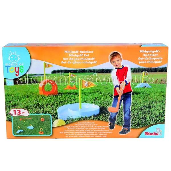 Спортивный инвентарь Simba Набор Мини-гольф фольксваген гольф 4 в рязани стоимость