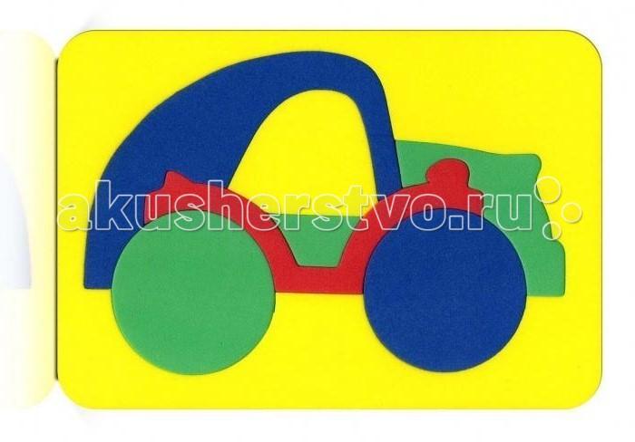 Пазлы Бомик Мозаика Машина игрушка бомик мозаика трактор 115