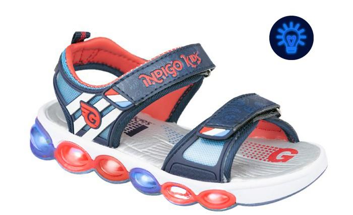Купить Indigo kids Сандалии детские 22-173 в интернет магазине. Цены, фото, описания, характеристики, отзывы, обзоры