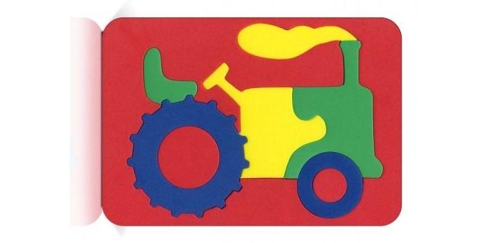 Пазлы Бомик Мозаика Трактор бомик конструктор трактор с тележкой