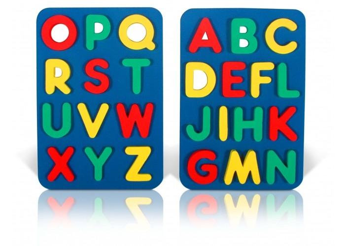 Пазлы Бомик Алфавит английский апплика пазл для малышей английский алфавит цвет основы желтый