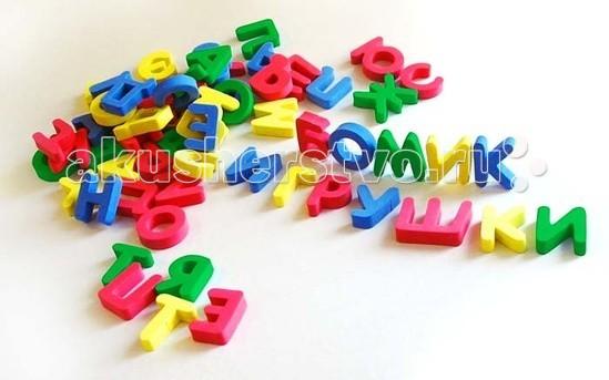 Пазлы Бомик Русский алфавит россыпью 63 буквы