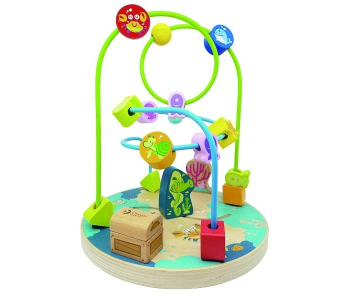 Деревянная игрушка Classic World Сортер Ocean Beads Coaster Птичка