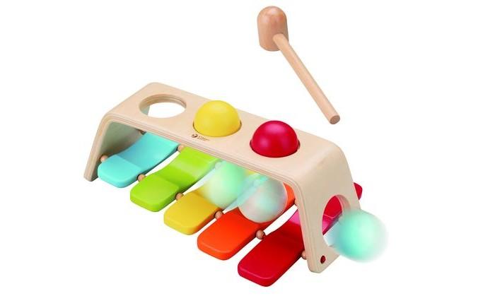 Деревянная игрушка Classic World колотушка Радуга