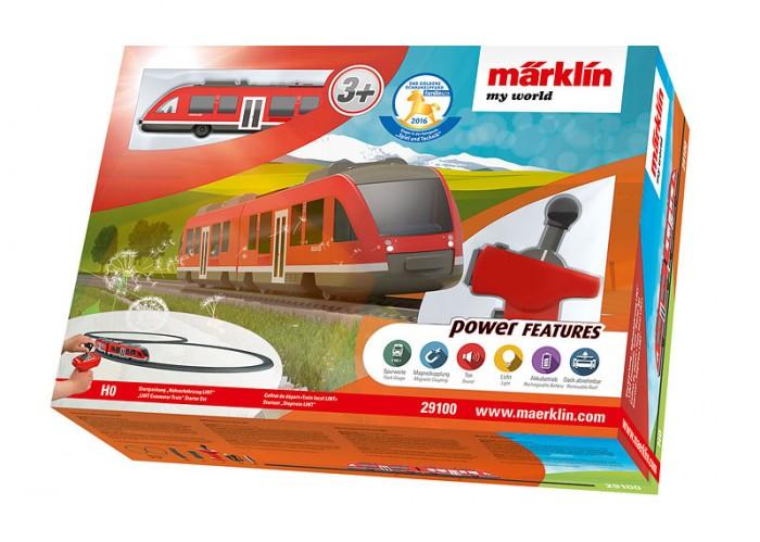 Купить Железные дороги, Marklin My world Стартовый набор Пригородный поезд Lint