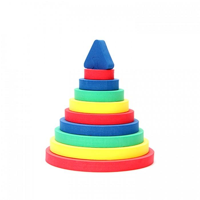 Развивающие игрушки Бомик Пирамида Круг конструкторы бомик развивающая игрушка конструктор пирамиды