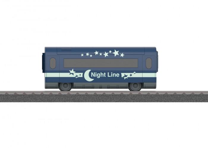 Железные дороги Marklin Вагон со спец-эффектами светится в темноте