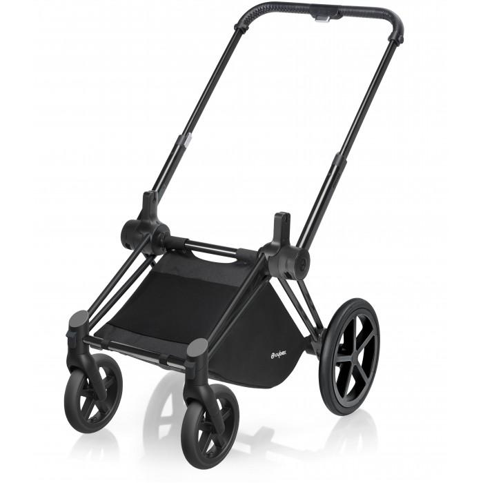 Аксессуары для колясок, Cybex Шасси для коляски Priam Matt Black с колесами Trekking  - купить со скидкой