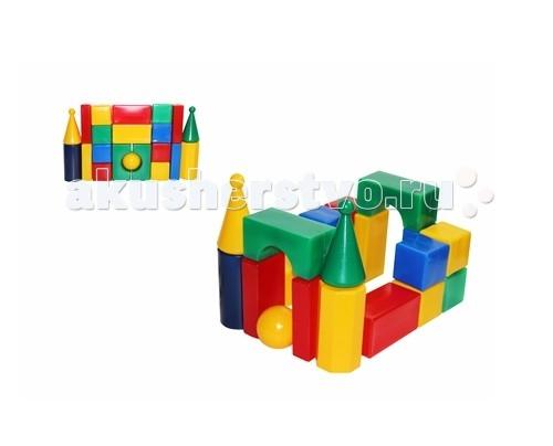 Развивающие игрушки СВСД Строительный набор Стена-смайл (21 элемент)