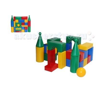 где купить Развивающие игрушки СВСД Строительный набор Стена-смайл (27 элементов) дешево