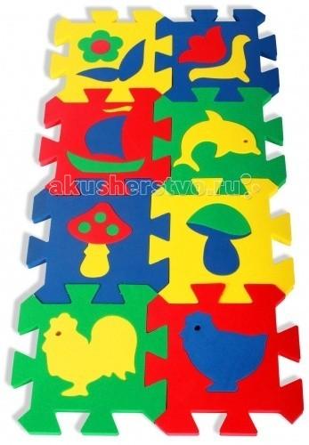 Игровые коврики Бомик Мозаика 14 х 14 см пазлы бомик мозаика локомотив